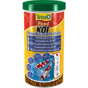 Tetra Pond Koi Sticks Colour and Growth 270g / 1L