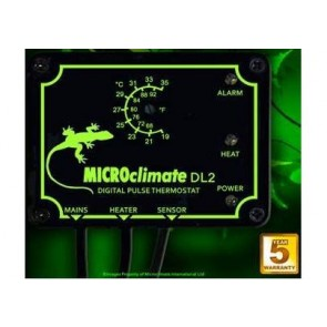 Microclimate DL2 Microprocessor Pulse Thermostat with Alarm upto 600 Watts