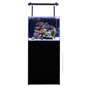 Aqua One MiniReef 120 Aquarium and Cabinet Black