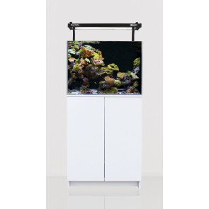 Aqua One MiniReef 120 Aquarium and Cabinet White