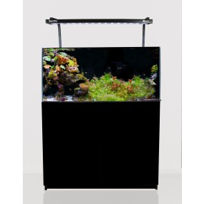 Aqua One MiniReef 180 Aquarium and Cabinet Black