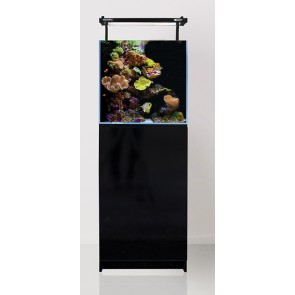 Aqua One MiniReef 90 Aquarium and Cabinet Black