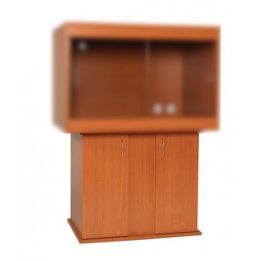 Monkfield Vivarium Cabinet in Beech to fit the 24'' x 18'' Vivariums