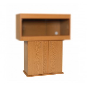 Monkfield Vivarium Cabinet in Oak to fit the 24'' x 18'' Vivariums