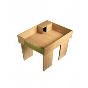 Viva Tortoise Oak Table Stand