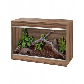 Vivexotic Repti-Home Vivarium (Small) Walnut
