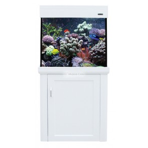 Aqua One Aquareef 195 Tank & Cabinet White