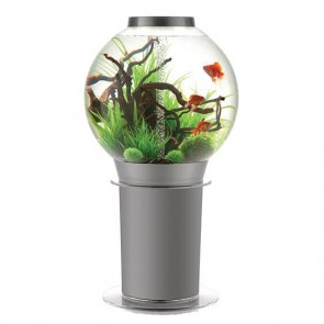 Biorb 105 Aquarium in Silver with iLED