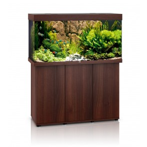 BLACK FRIDAY SPECIAL 1 ONLY - Juwel Rio 350 T5 Aquarium and sbx Cabinet in Dark Wood