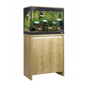 Fluval Roma 125 LED Tank and Cabinet in Oak