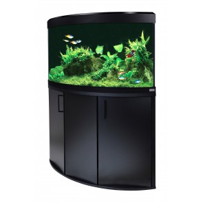 Fluval Venezia 190 LED Aquarium and Cabinet in Black